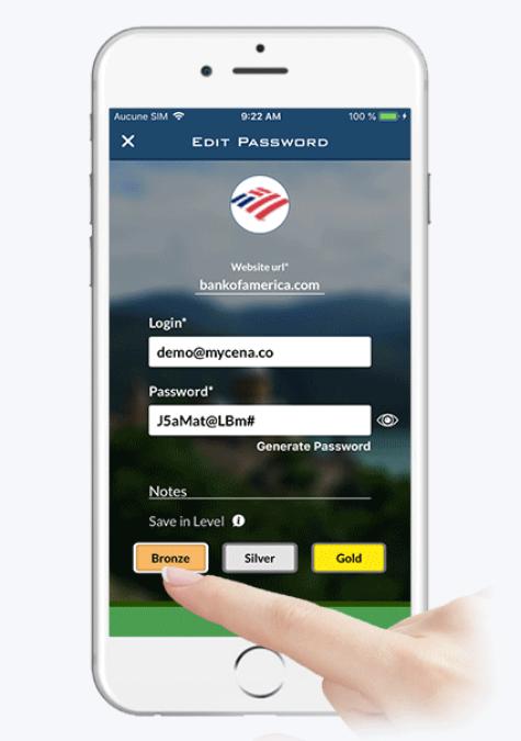 Decentralized Password Storage