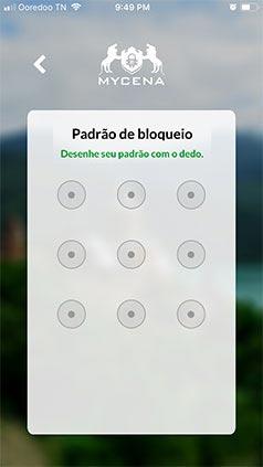 Unlock pattern